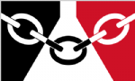 Black Country Boat / Courtesy Flag.